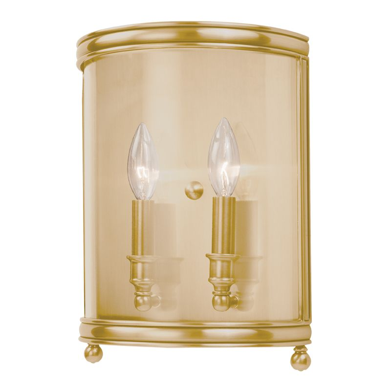 Hudson Valley Lighting 7802 Two Light Up Lighting Double Wall Sconce Sale $536.00 ITEM: bci1737652 ID#:7802-AGB UPC: 806134115913 :