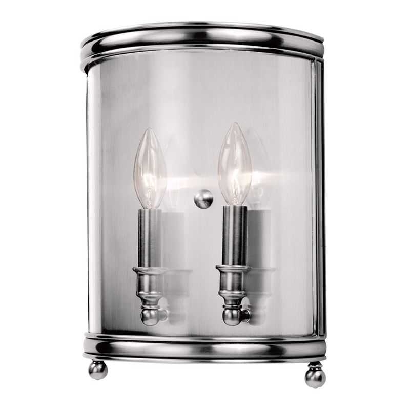 Hudson Valley Lighting 7802 Two Light Up Lighting Double Wall Sconce Sale $536.00 ITEM: bci1737655 ID#:7802-PN UPC: 806134115944 :