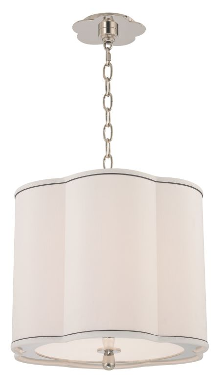 Hudson Valley Lighting 7915 Sweeny 3 Light Pendant Polished Nickel