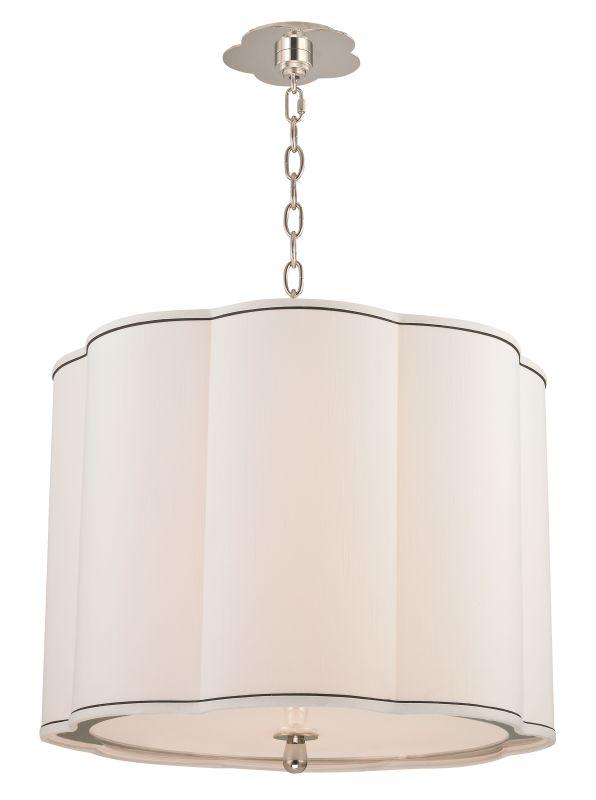 Hudson Valley Lighting 7920 Sweeny 4 Light Pendant Polished Nickel