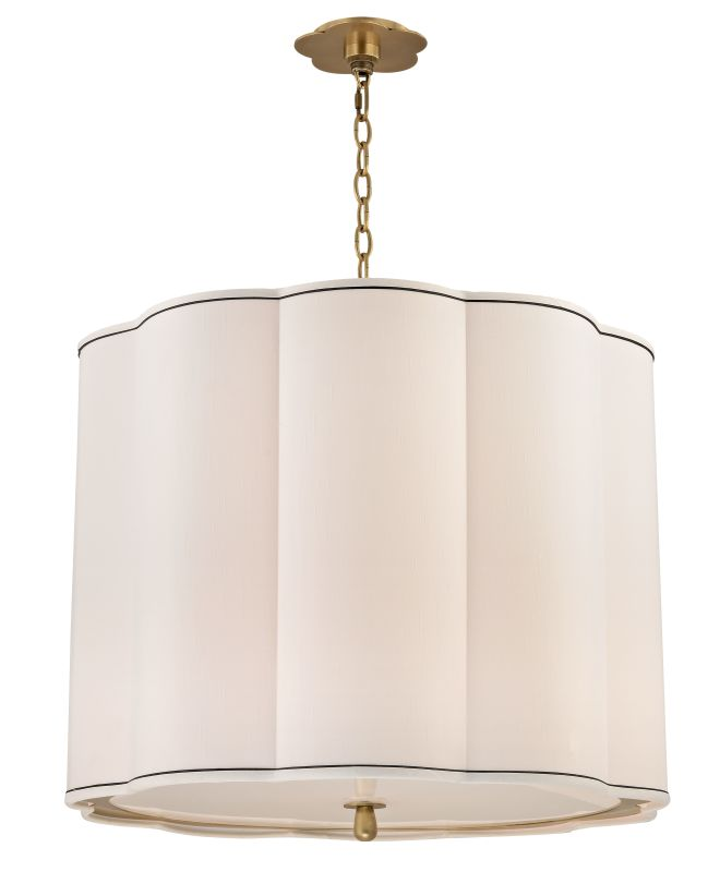 Hudson Valley Lighting 7925 Sweeny 5 Light Pendant Aged Brass Indoor