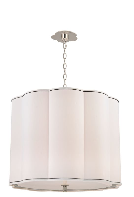 Hudson Valley Lighting 7925 Sweeny 5 Light Pendant Polished Nickel