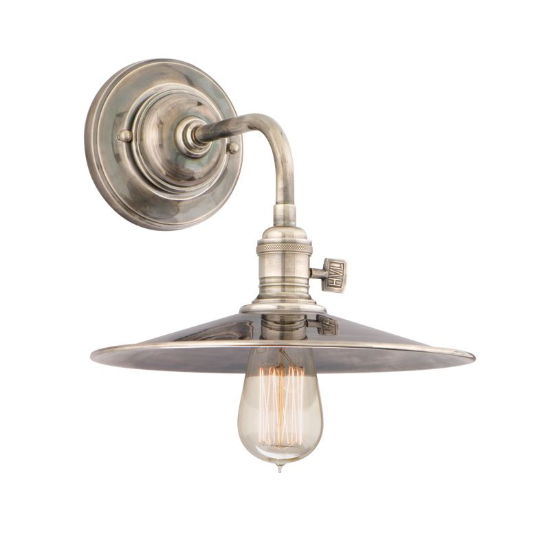 Hudson Valley 8000-HN-MS1 Nickel Industrial Heirloom Wall Sconce Sale $320.00 ITEM: bci1737836 ID#:8000-HN-MS1 UPC: 806134103293 :