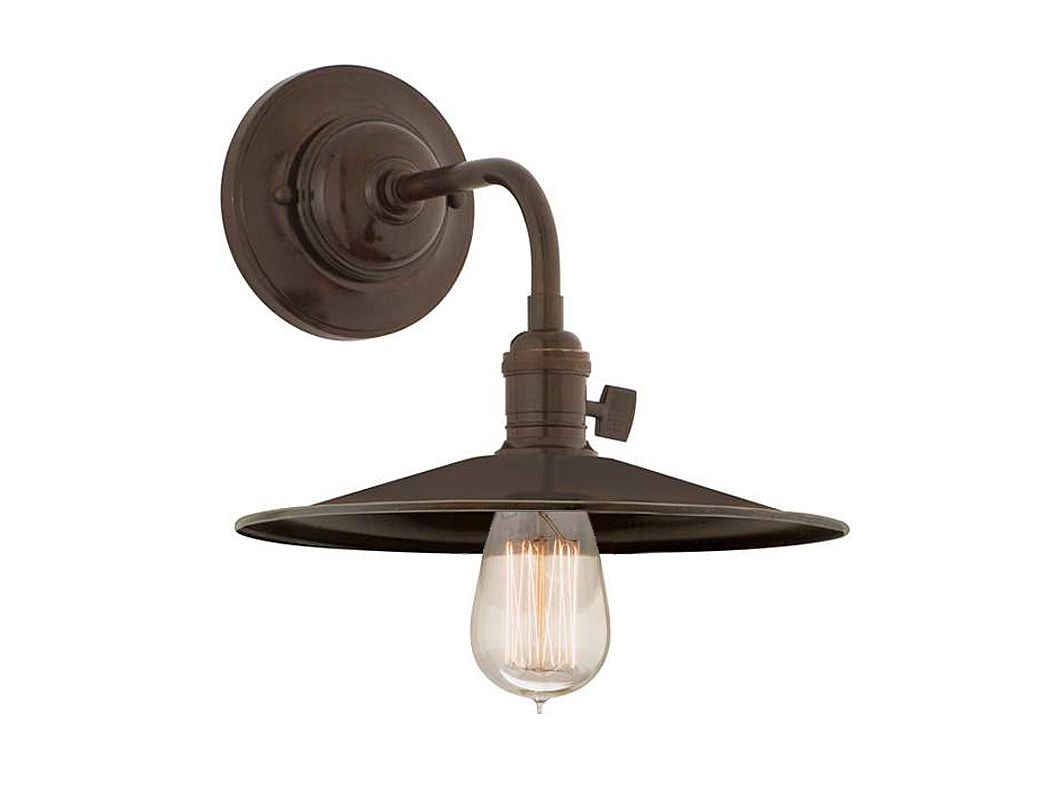 Hudson Valley 8000-OB-MS1 Bronze Industrial Heirloom Wall Sconce