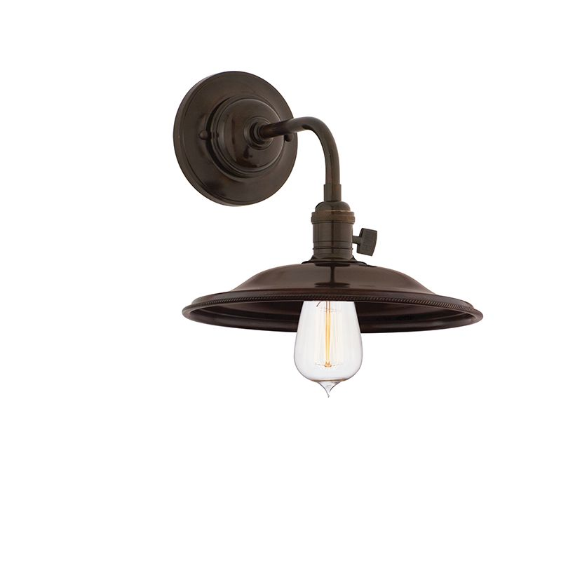 Hudson Valley 8000-OB-MS2 Bronze Industrial Heirloom Wall Sconce