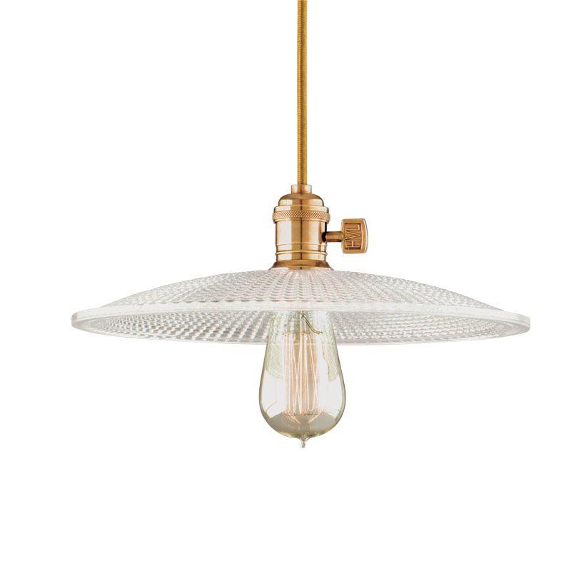 Hudson Valley Lighting 8001-GS4 Single Light Down Lighting Pendant