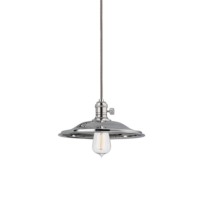Hudson Valley 8002-PN-MS2 Polished Nickel Industrial Heirloom Pendant
