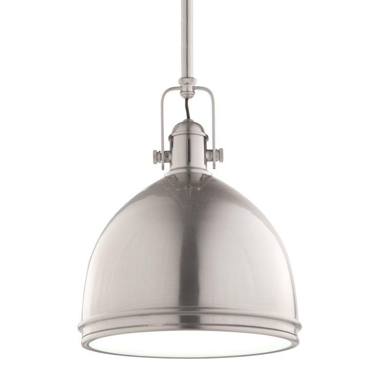 Hudson Valley Lighting 8008-SN Satin Nickel Industrial Windham Pendant