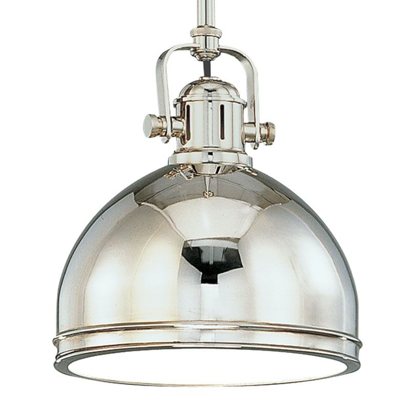 Hudson Valley 8011-PN Polished Nickel Industrial Windham Pendant
