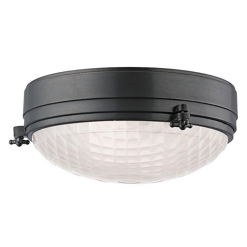 """Hudson Valley Lighting 8013 Belmont 2 Light 13"""" Flush Mount Ceiling"""