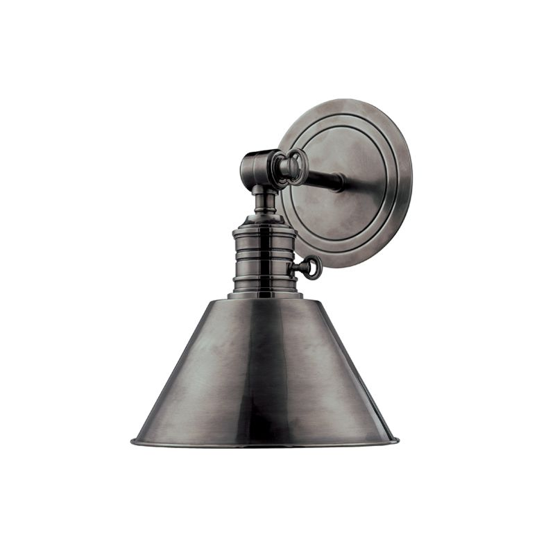 Hudson Valley 8321-AN Nickel Industrial Garden City Wall Sconce