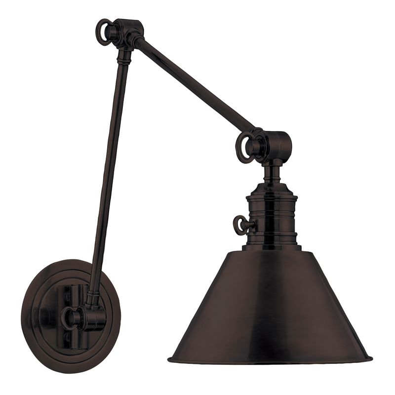 Hudson Valley 8323-OB Bronze Industrial Garden City Wall Sconce