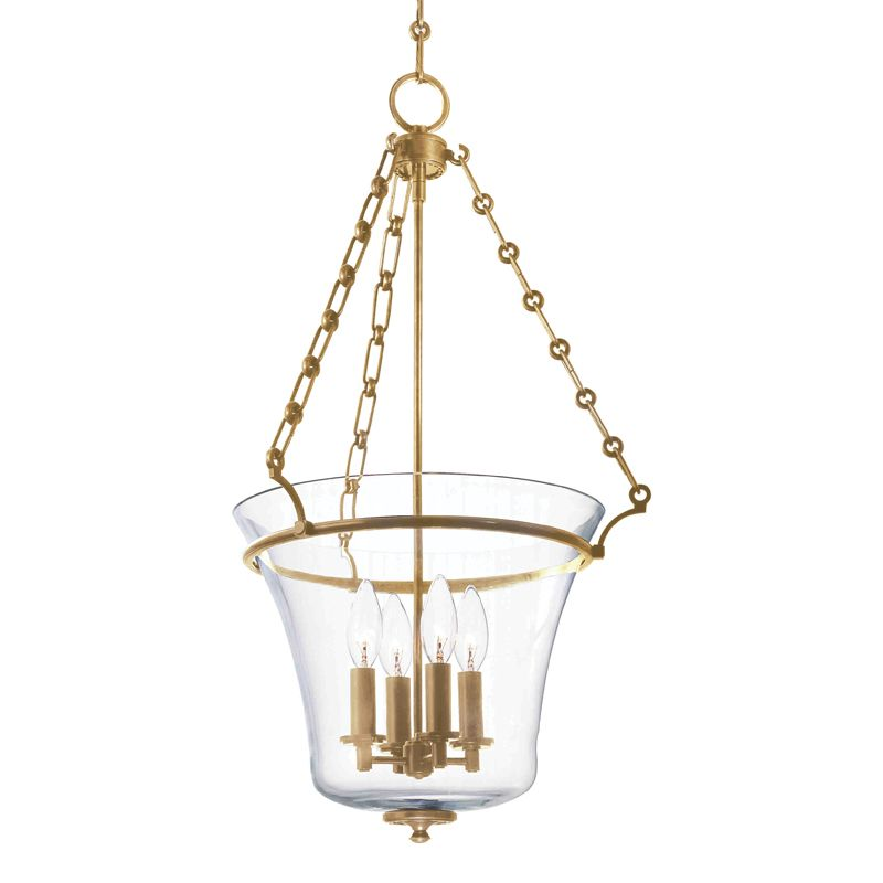 Hudson Valley Lighting 833 Four Light Up Lighting Pendant with Urn Sale $748.00 ITEM: bci1737704 ID#:833-AGB UPC: 806134123963 :