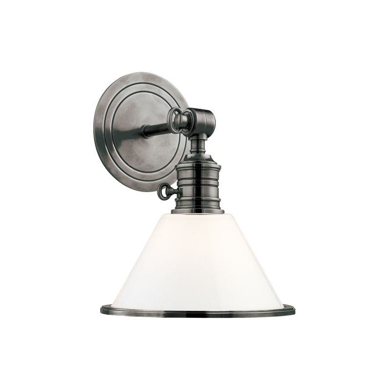 Hudson Valley 8331-AN Nickel Industrial Garden City Wall Sconce