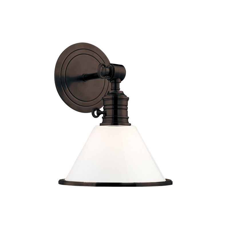 Hudson Valley 8331-OB Bronze Industrial Garden City Wall Sconce