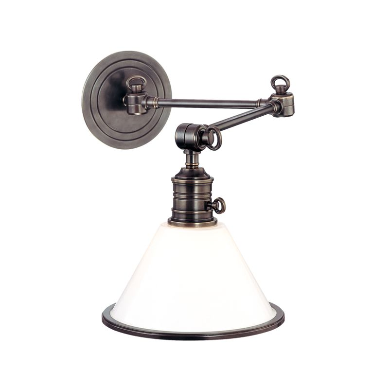 Hudson Valley 8332-OB Bronze Industrial Garden City Wall Sconce