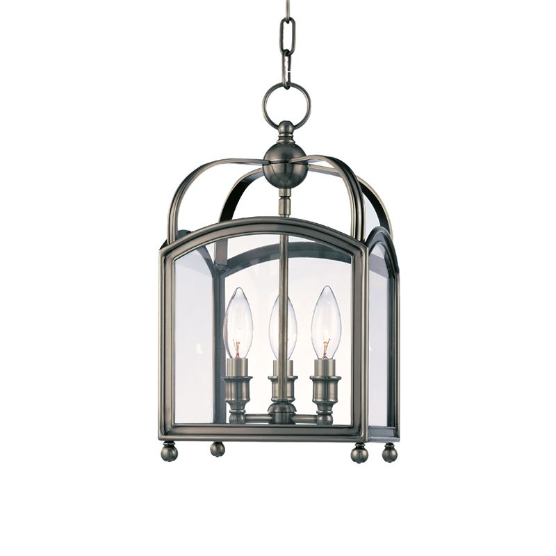 "Hudson Valley Lighting 8409 Three Light Up Lighting Enclosed Mini Sale $846.00 ITEM: bci1737722 ID#:8409-HN UPC: 806134116217 Product Features: Finish: Aged Brass , Light Direction: Up Lighting , Width: 8.5"" , Height: 15.75"" , Genre: Colonial , Bulb Type: Incandescent , Number of Bulbs: 3 , Fully covered under Hudson Valley Lighting warranty , Location Rating: Indoor Use :"