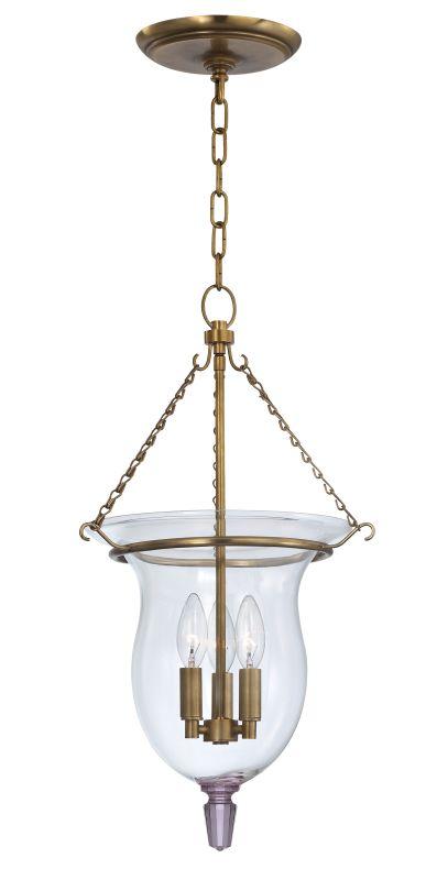 Hudson Valley Lighting 841 Ulster 3 Light Pendant Aged Brass Indoor