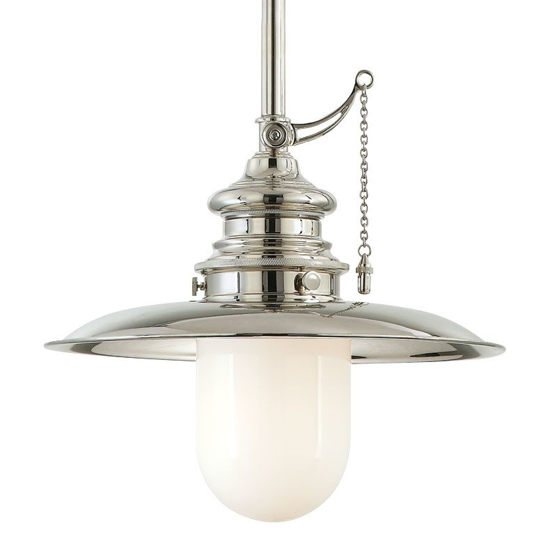 Hudson Valley 8820-PN Polished Nickel Industrial Kendall Pendant