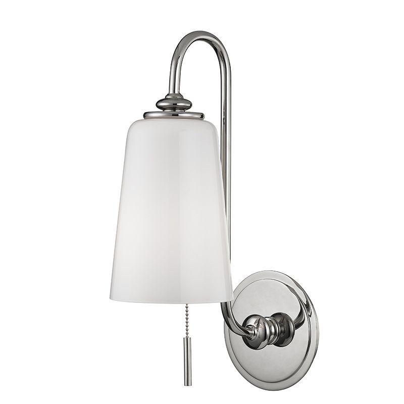 "Hudson Valley Lighting 9011 Glover Single Light 16"" Tall Wall Sconce"