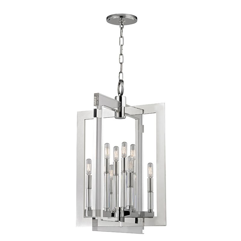 "Hudson Valley Lighting 9323 Wellington 8 Light 23"" Pendant with"