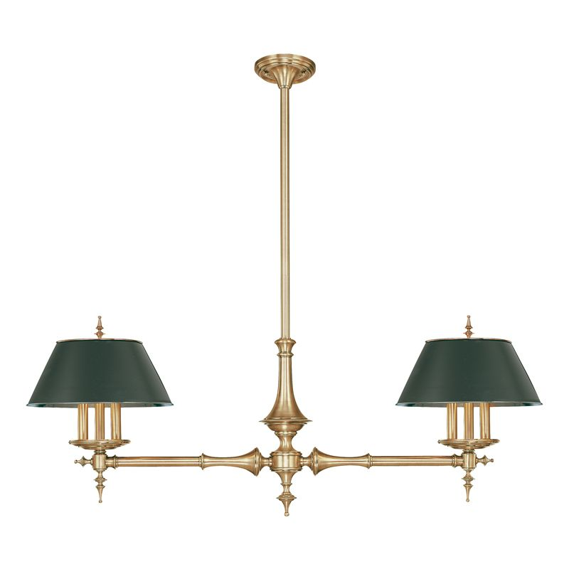 Hudson Valley Lighting 9512 Six Light Island Fixture from the Bristol Sale $2772.00 ITEM: bci524833 ID#:9512-AGB UPC: 806134041793 :