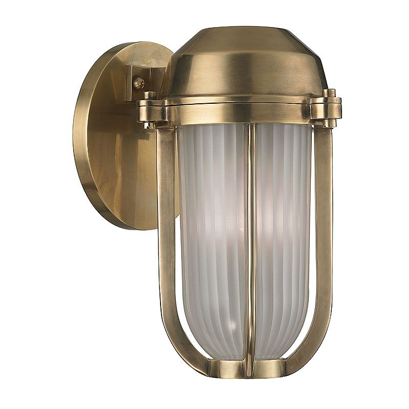 Hudson Valley Lighting 980 Pompey 1 Light Outdoor Wall Sconce Aged Sale $220.80 ITEM: bci2402408 ID#:980-AGB UPC: 806134174316 :