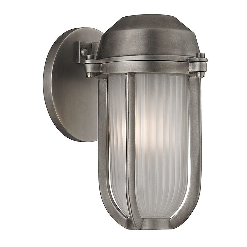 Hudson Valley Lighting 980 Pompey 1 Light Outdoor Wall Sconce Antique