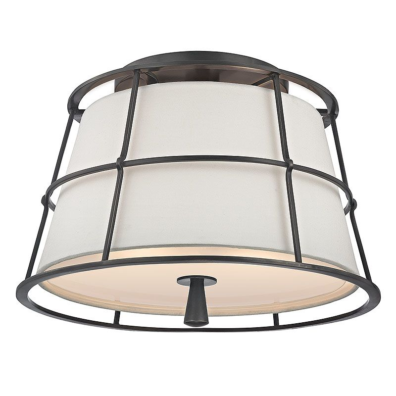 Hudson Valley 9814-OB Bronze Contemporary Savona Ceiling Light