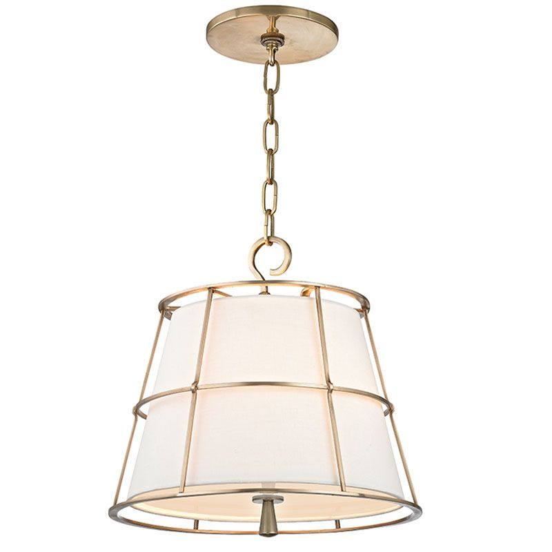 Hudson Valley Lighting 9816-AGB Aged Brass Contemporary Savona Pendant