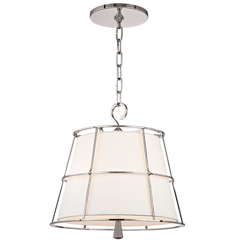Hudson Valley 9816-PN Polished Nickel Contemporary Savona Pendant