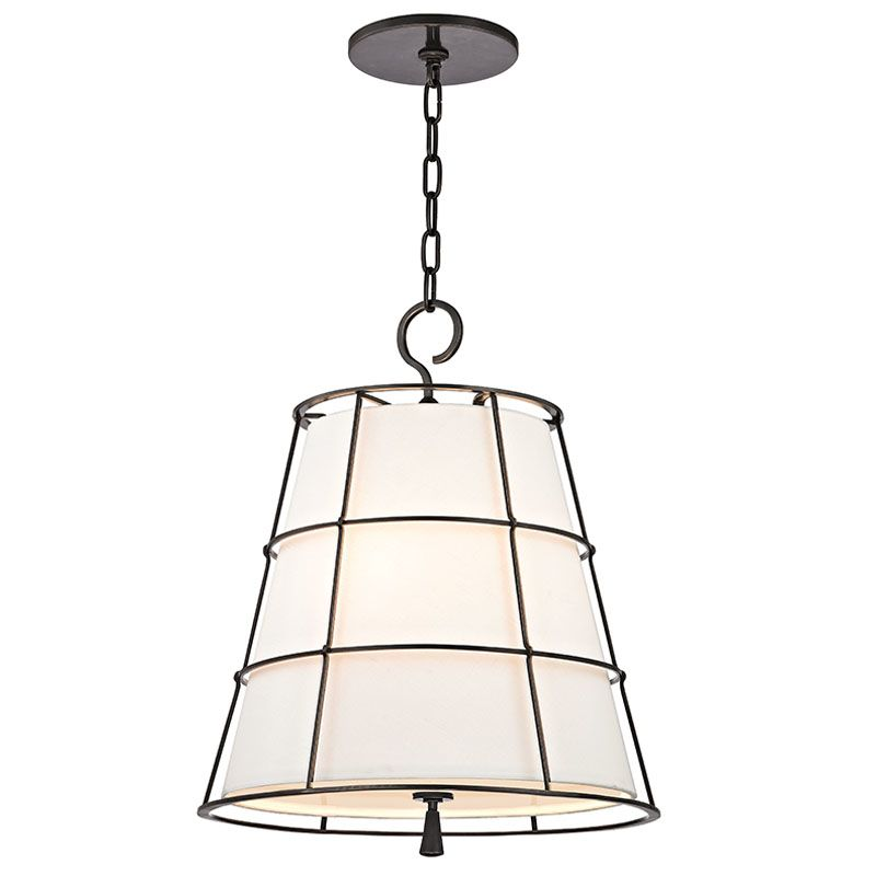 Hudson Valley Lighting 9818-OB Old Bronze Contemporary Savona Pendant