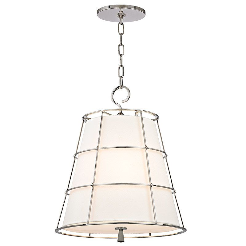Hudson Valley 9818-PN Polished Nickel Contemporary Savona Pendant