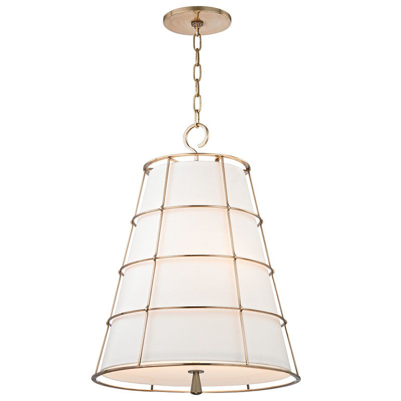 Hudson Valley Lighting 9820-AGB Aged Brass Contemporary Savona Pendant