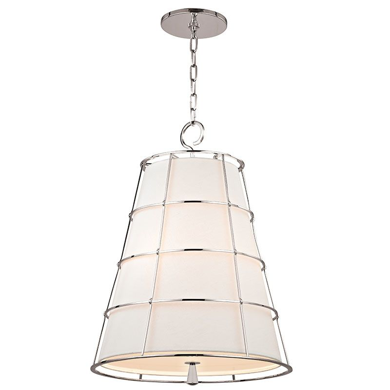 Hudson Valley 9820-PN Polished Nickel Contemporary Savona Pendant
