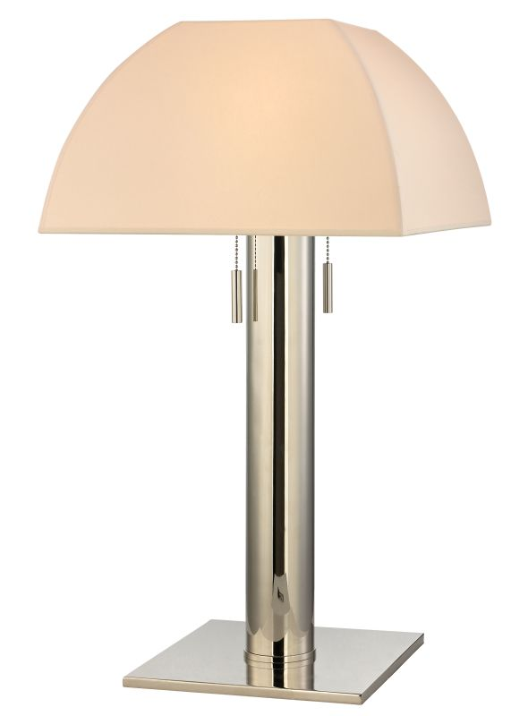 Hudson Valley Lighting L246-N Alba 2 Light Table Lamp with Natural