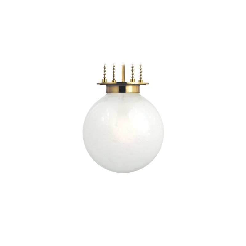 Hudson Valley Lighting 4217-FB Blaine 1 Light Pendant Aged Brass
