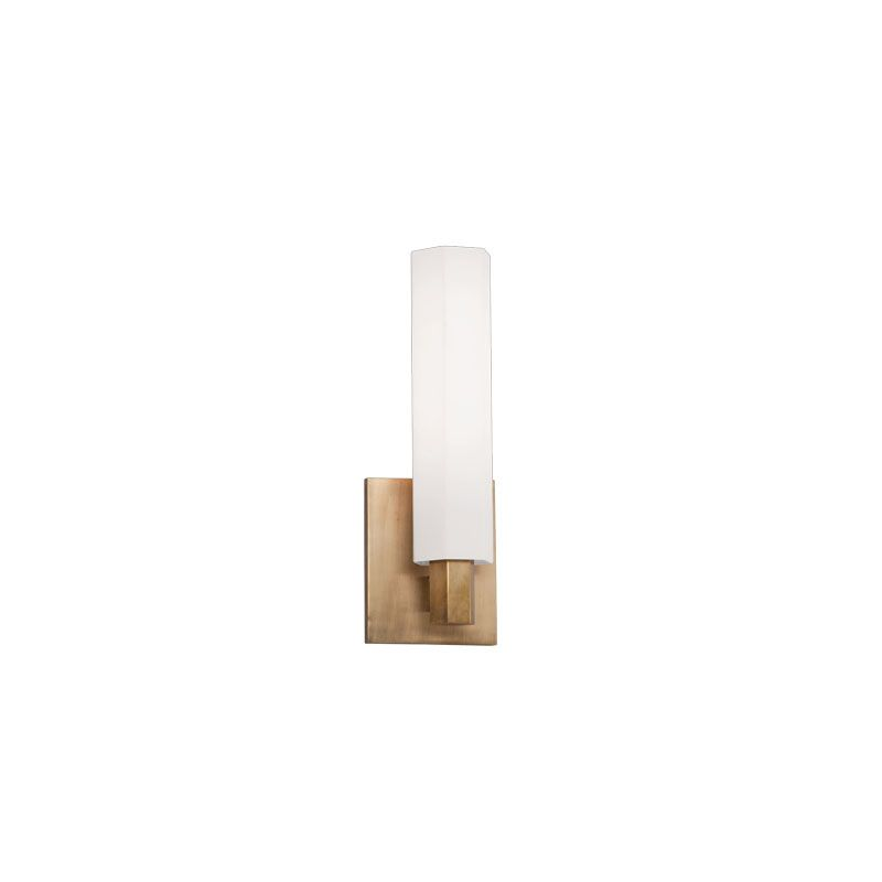 Hudson Valley 450-AGB Aged Brass Contemporary Nyack Bathroom Light