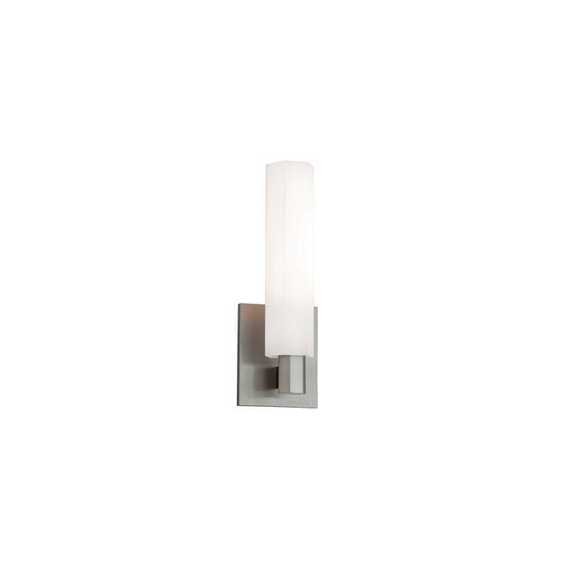 Hudson Valley 450-SN Satin Nickel Contemporary Nyack Bathroom Light