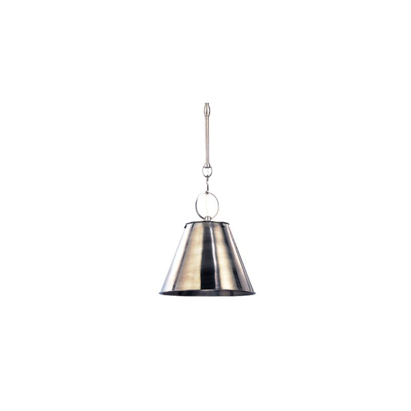 Hudson Valley Lighting 5508 Altamont 1 Light Pendant Historic Nickel