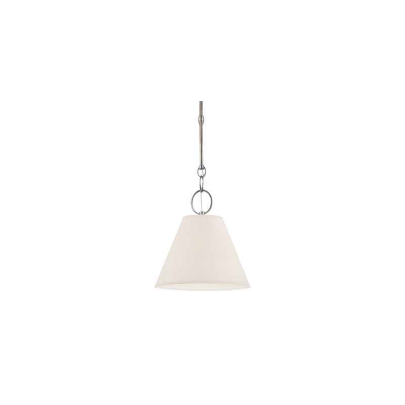 Hudson Valley Lighting 5612 Altamont 1 Light Pendant Historic Nickel