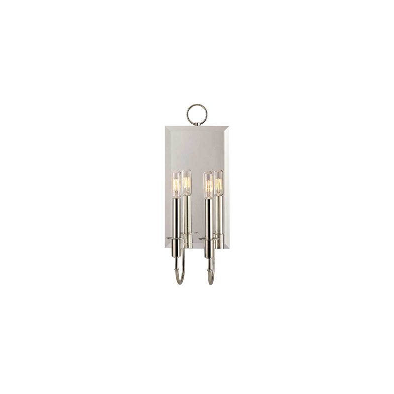 Hudson Valley 6922-PN Polished Nickel Industrial Essex Wall Sconce