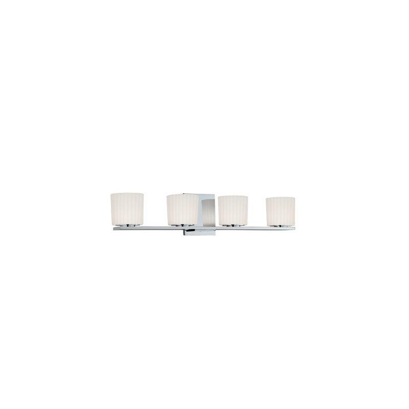 Hudson Valley Lighting 7744 Woodbridge 4 Light Xenon Bathroom Fixture