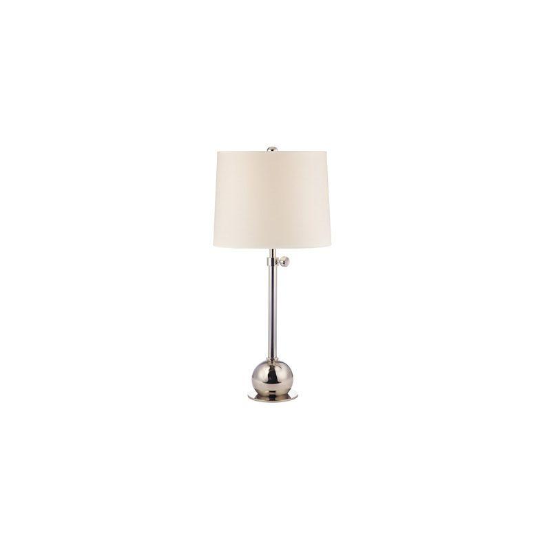 Hudson Valley Lighting L114 Marshall 1 Light Table Lamp Polished