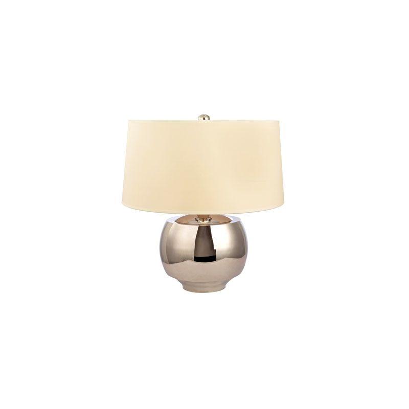 Hudson Valley Lighting L162 Holden 1 Light Table Lamp Polished Nickel