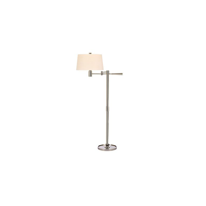 Hudson Valley Lighting L526 Lindale 1 Light Floor Lamp Polished Nickel