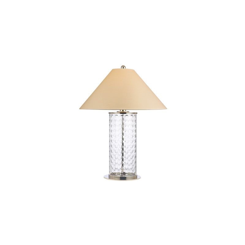 Hudson Valley Lighting L536 Shelby 1 Light Table Lamp Polished Nickel