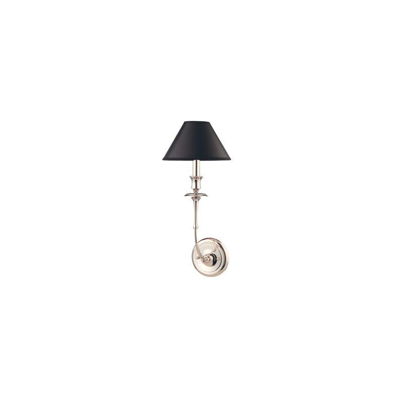 Hudson Valley Lighting 1861 Single Light Up Lighting Wallchiere Style Sale $214.00 ITEM: bci1718445 ID#:1861-PN UPC: 806134105174 :