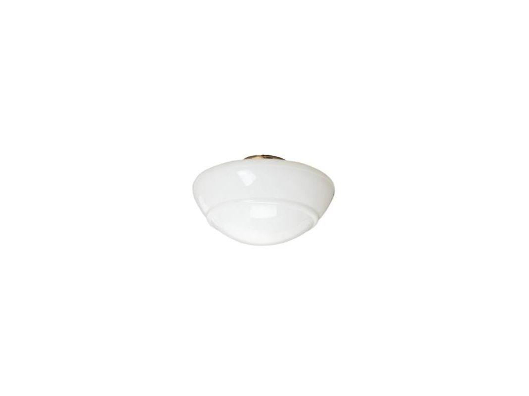 Hunter 22565 White Contemporary Schoolhouse Globe Light Kit