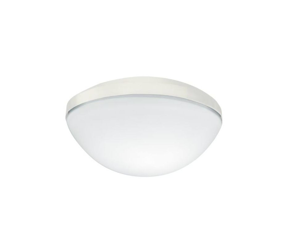 Hunter 26168 Tribeca Low Profile Bowl Light Kit w/ Etched White Glass